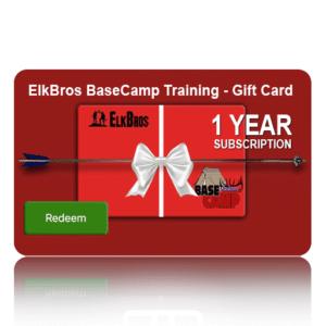 ElkBros BaseCamp Online Training – Gift Card!