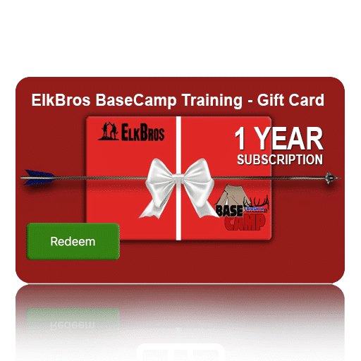 basecamp training camp gift card